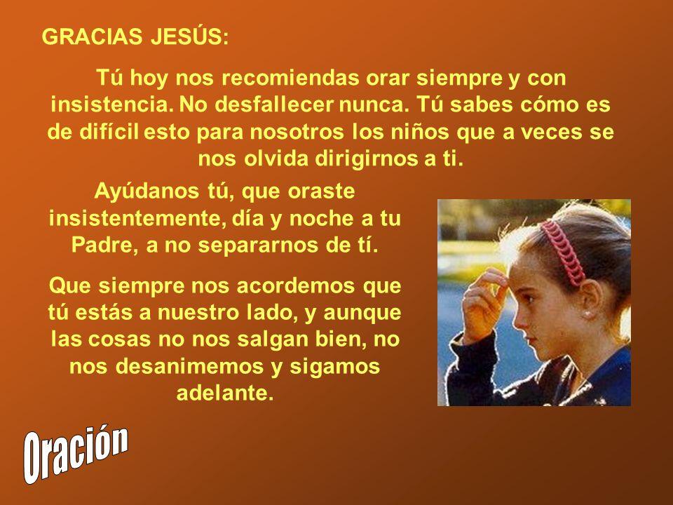 Oración GRACIAS JESÚS: