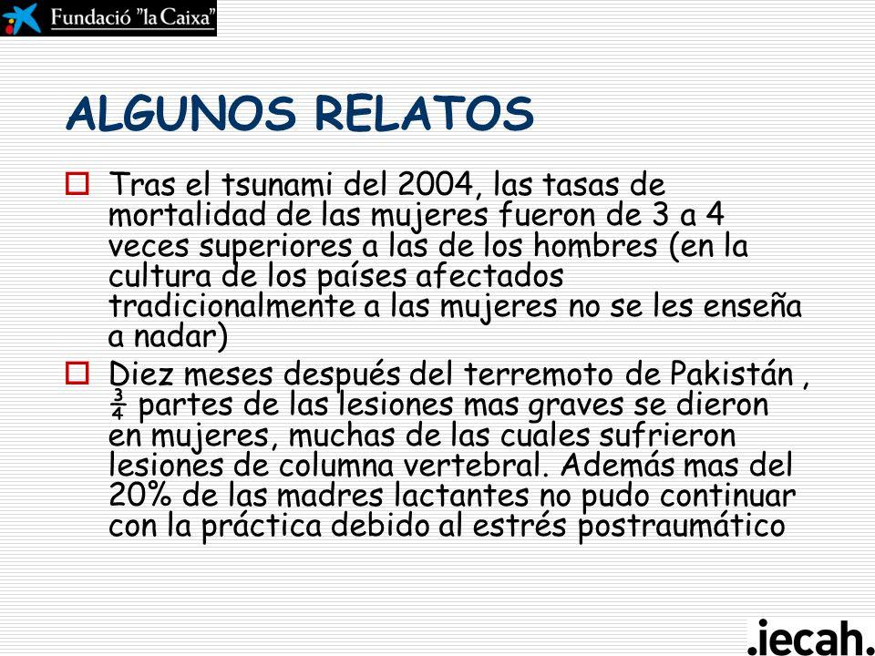 ALGUNOS RELATOS