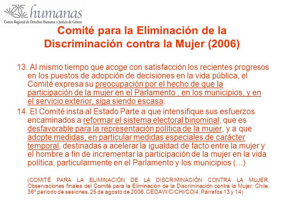 Comité para la Eliminación de la Discriminación contra la Mujer (2006)