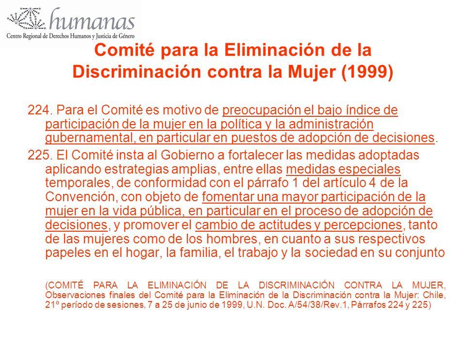 Comité para la Eliminación de la Discriminación contra la Mujer (1999)