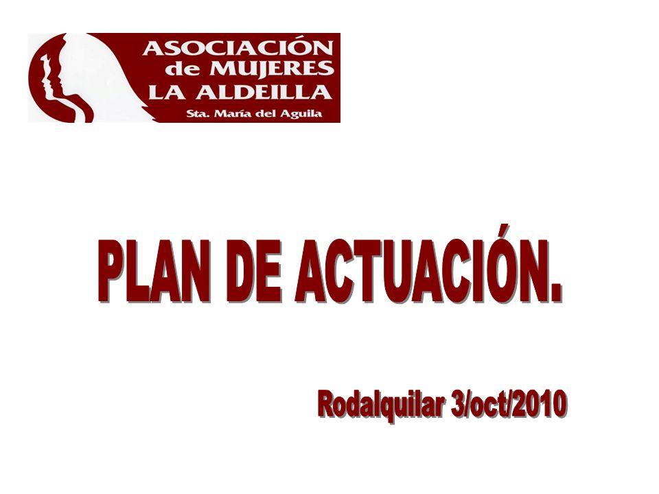 PLAN DE ACTUACIÓN. Rodalquilar 3/oct/2010