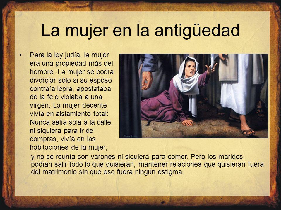 La mujer en la antigüedad