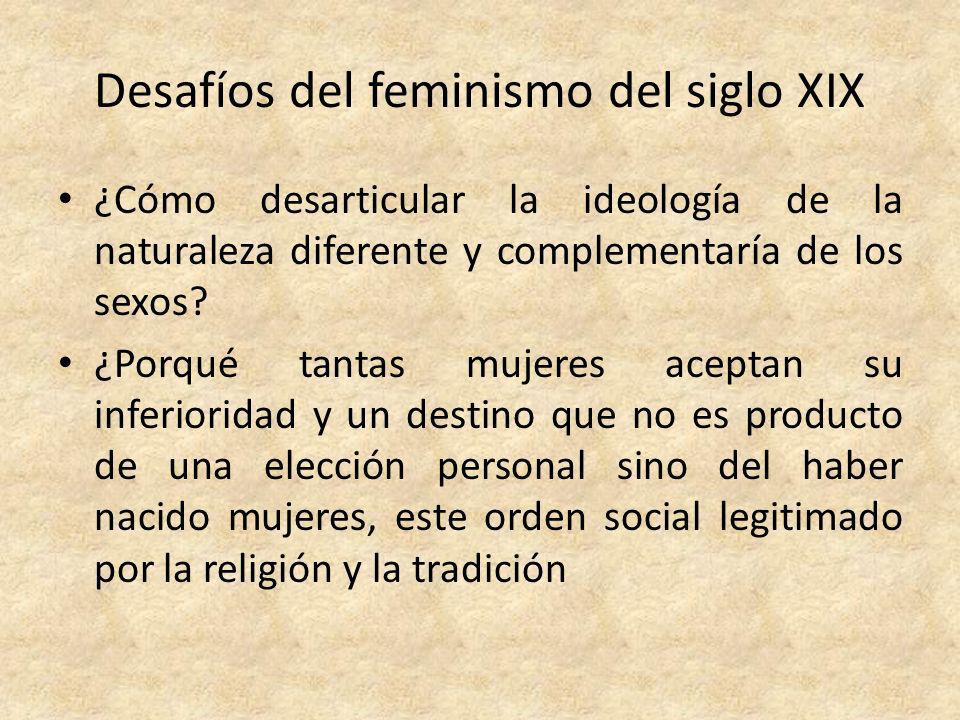 Desafíos del feminismo del siglo XIX