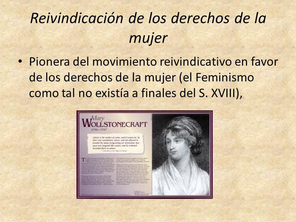 Reivindicación de los derechos de la mujer