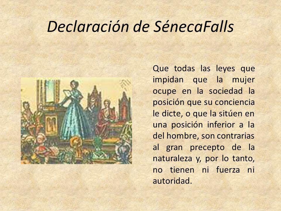 Declaración de SénecaFalls