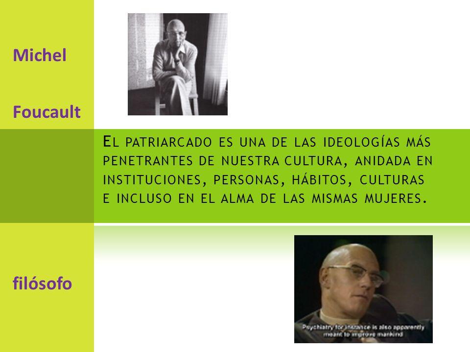 Michel Foucault filósofo