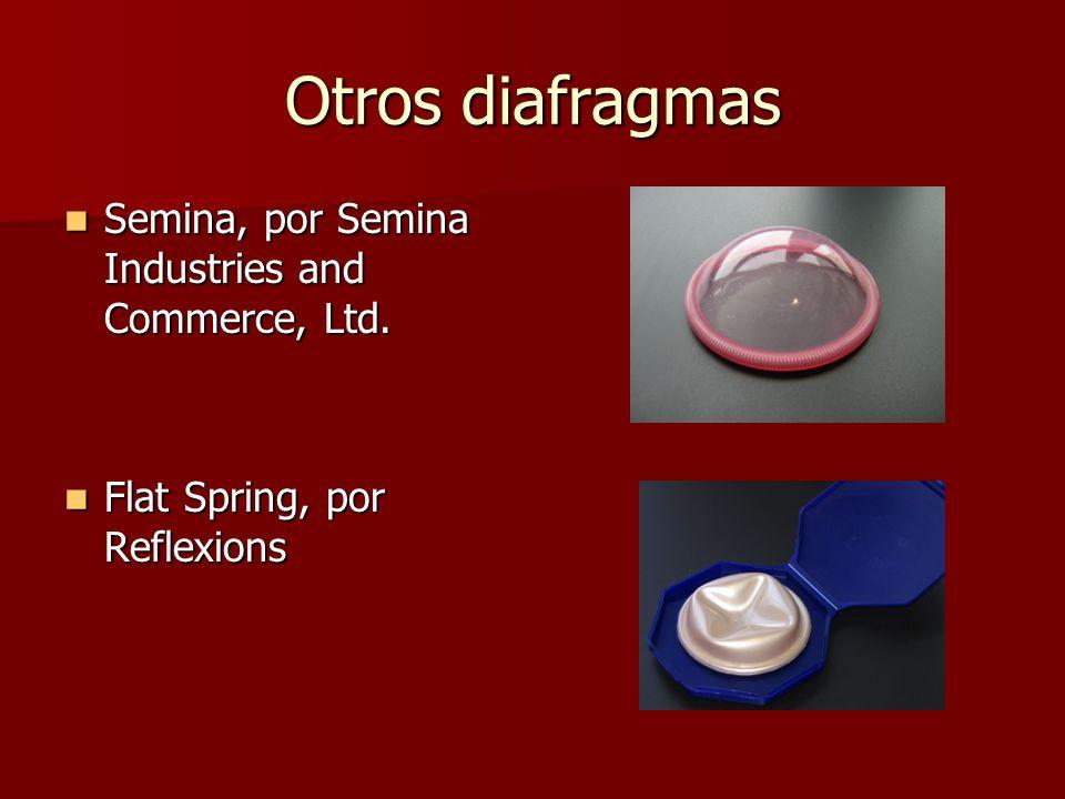 Otros diafragmas Semina, por Semina Industries and Commerce, Ltd.