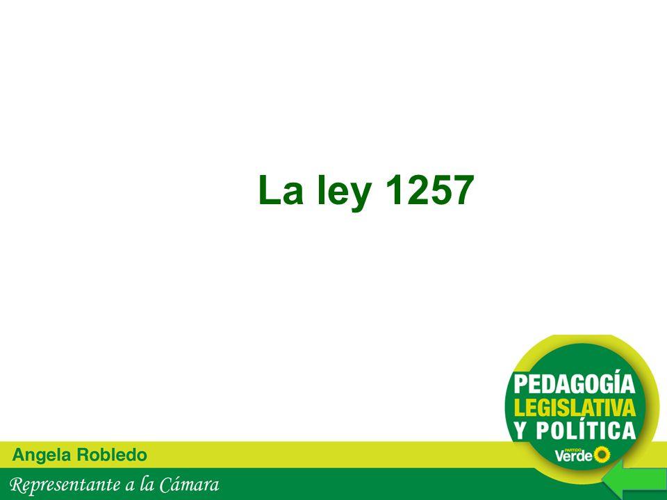La ley 1257