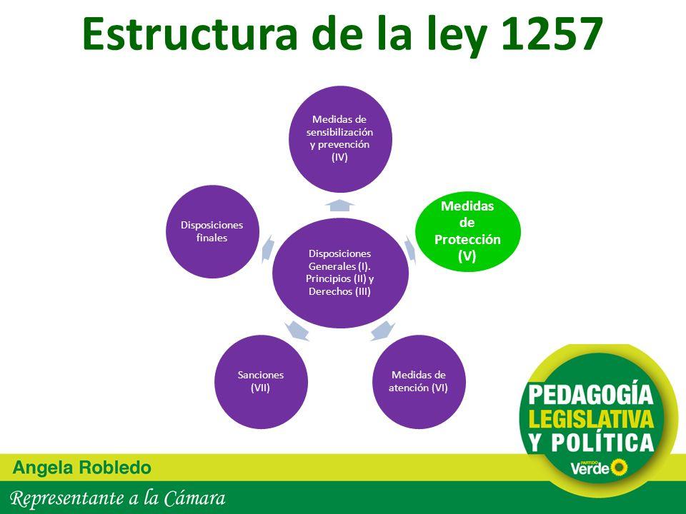 Medidas de Protección (V)