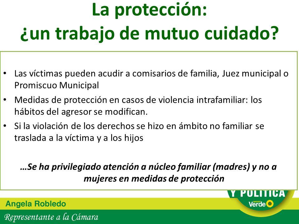 La protección: ¿un trabajo de mutuo cuidado
