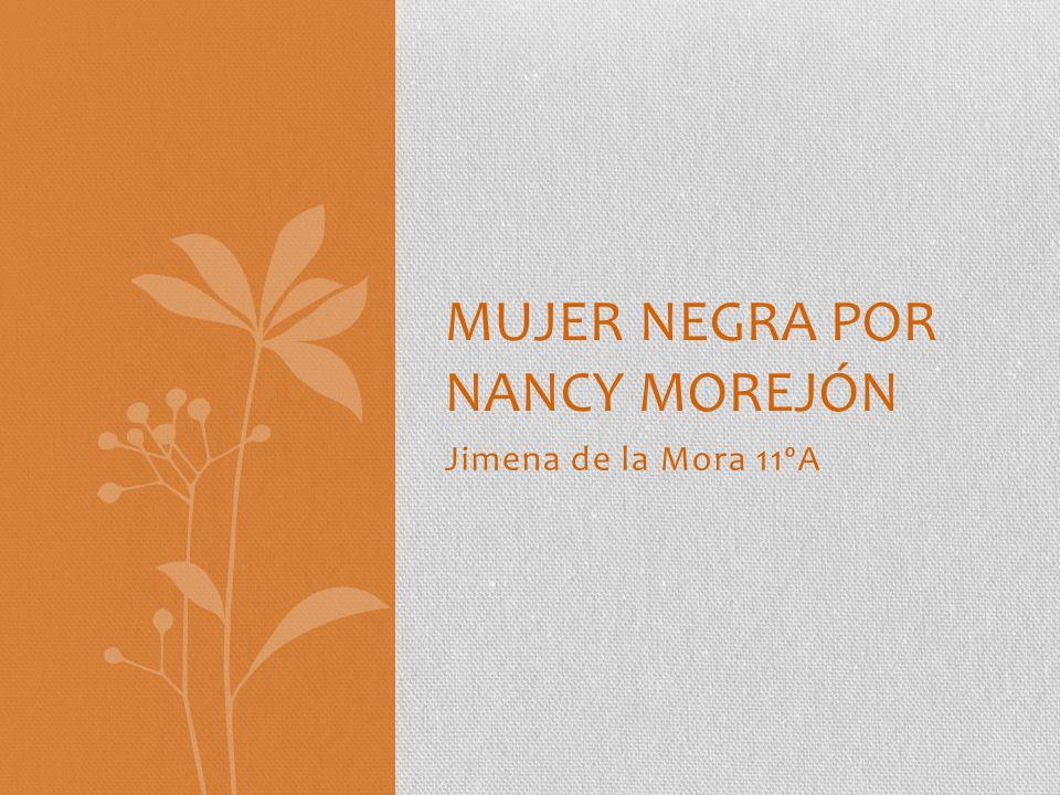 Mujer negra por Nancy morejón