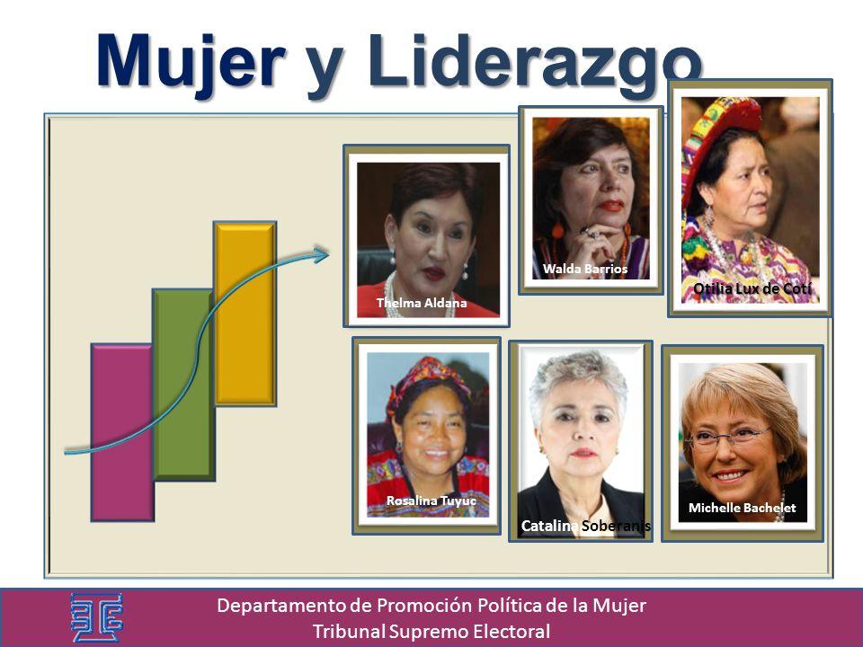 Mujer y Liderazgo Departamento de Promoción Política de la Mujer