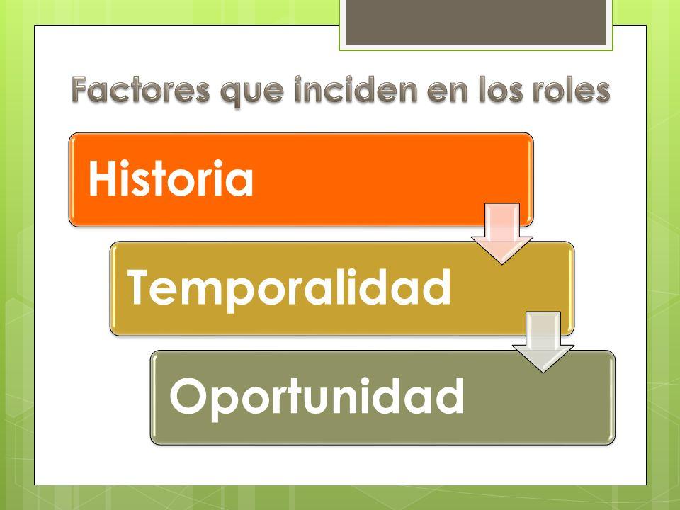 Factores que inciden en los roles