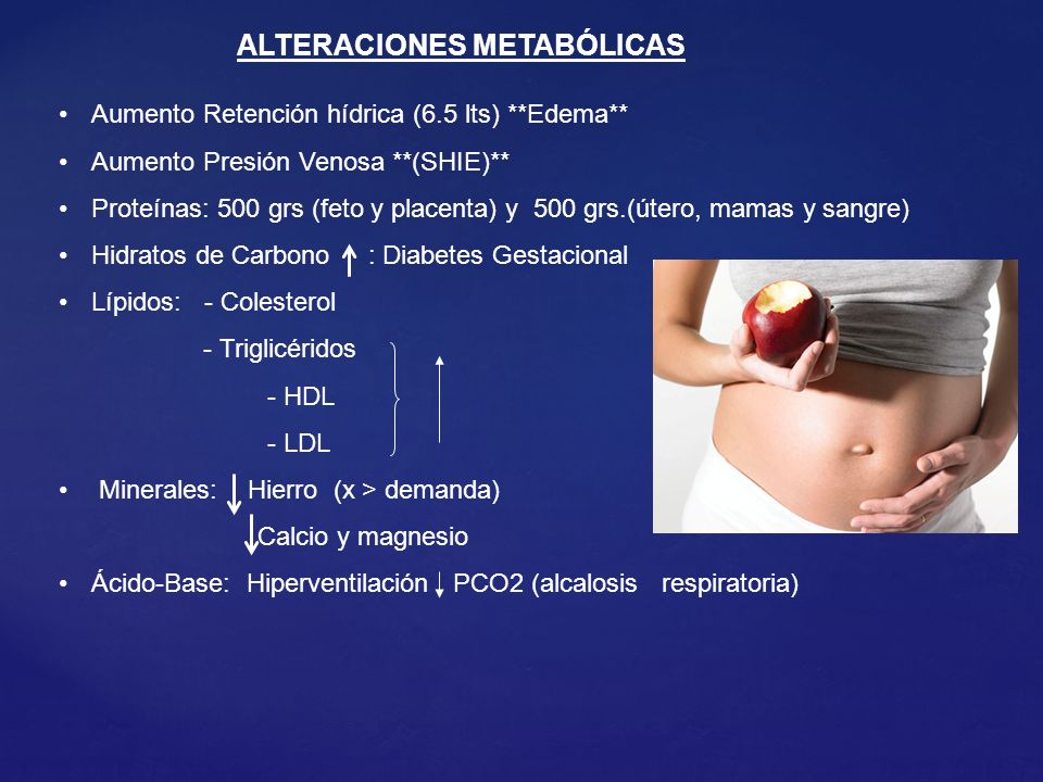 ALTERACIONES METABÓLICAS