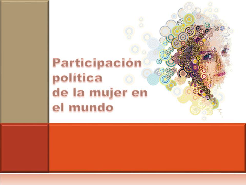 Participación política de la mujer en el mundo