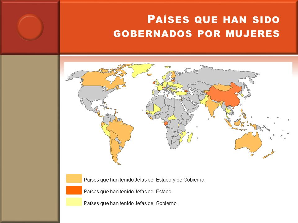 Países que han sido gobernados por mujeres