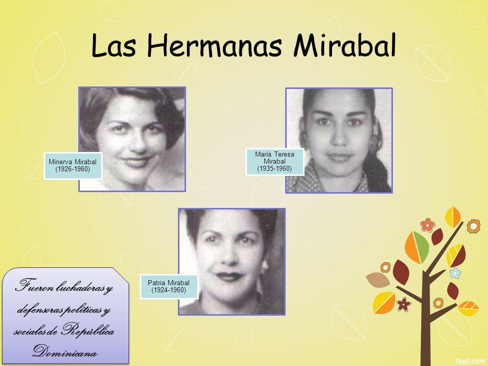 María Teresa Mirabal (1935-1960)
