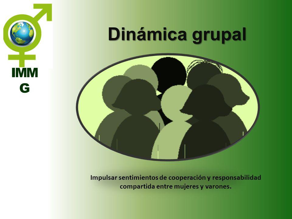 Dinámica grupal IMM G.