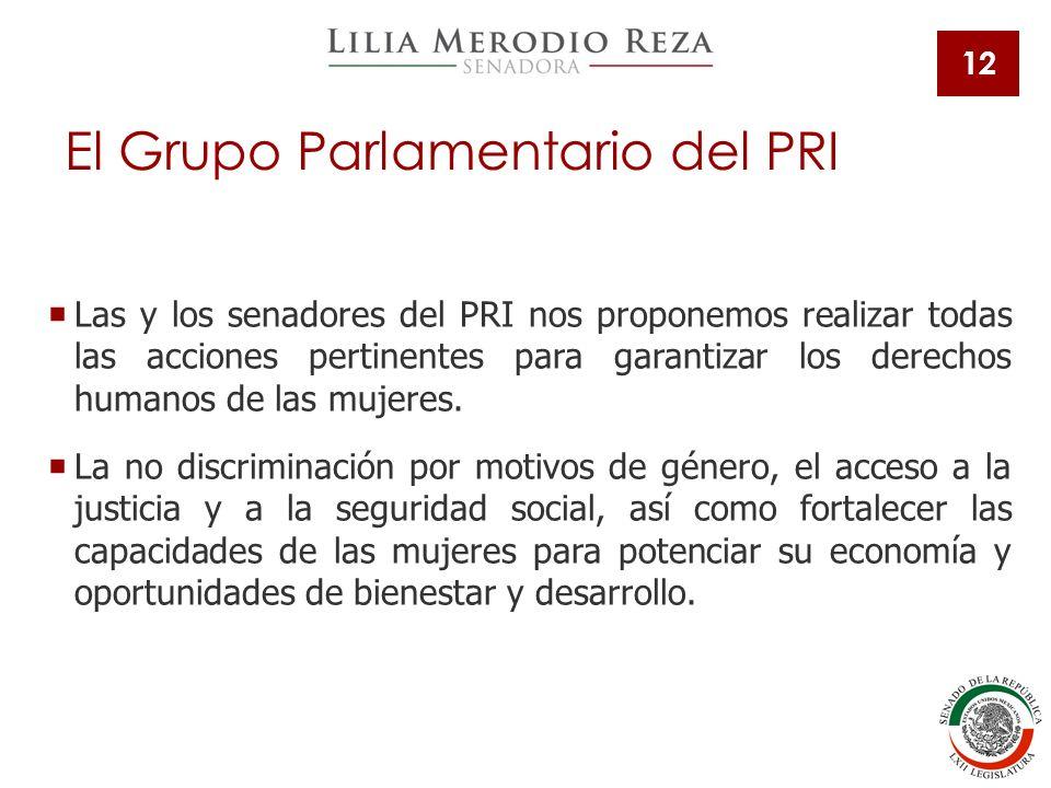 El Grupo Parlamentario del PRI