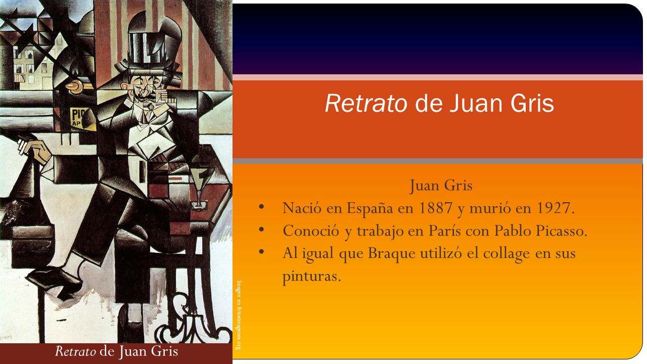 Retrato de Juan Gris Juan Gris