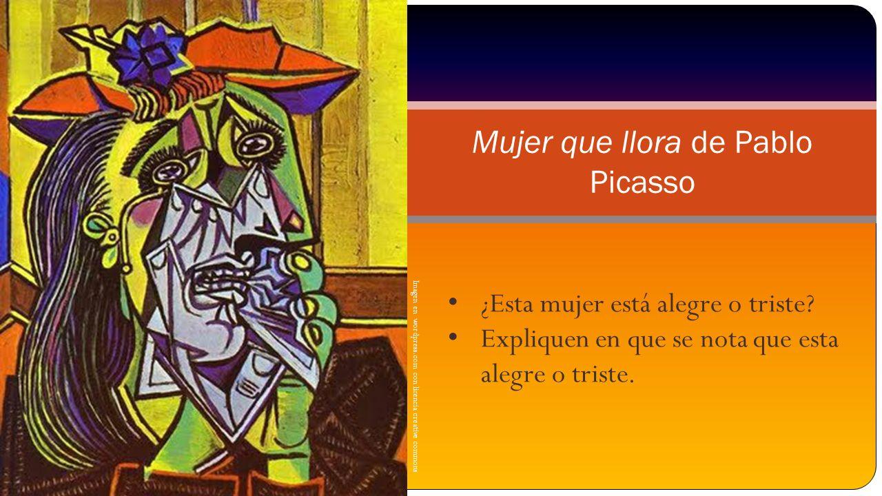 Mujer que llora de Pablo Picasso