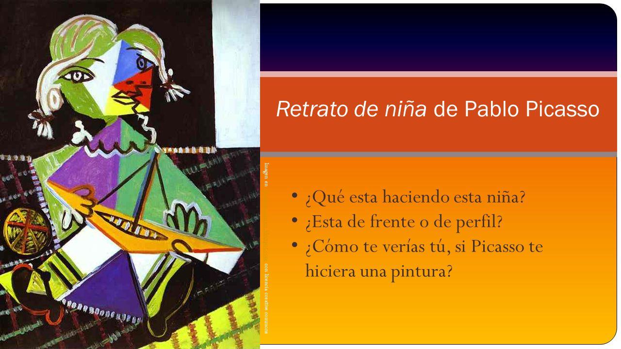 Retrato de niña de Pablo Picasso