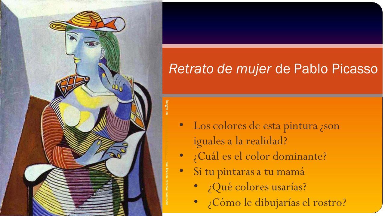 Retrato de mujer de Pablo Picasso
