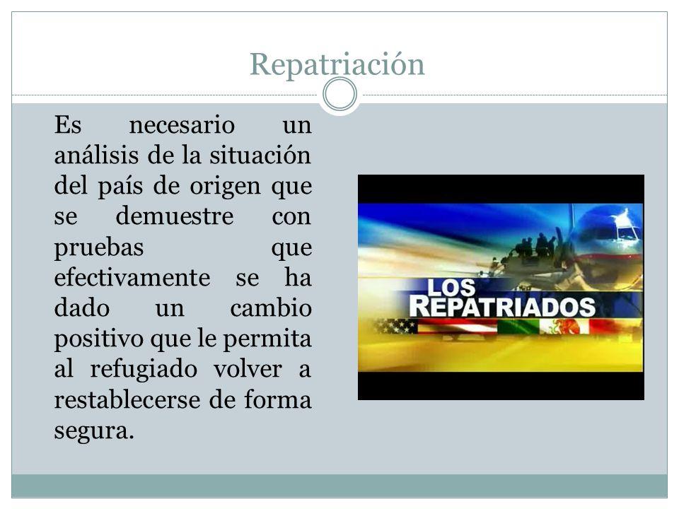 Repatriación