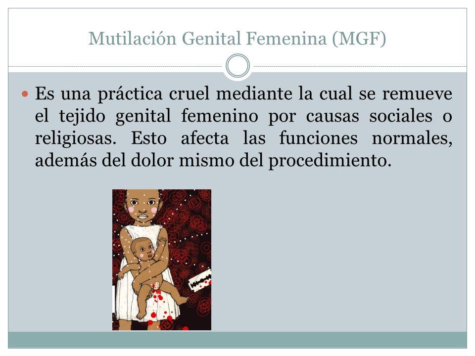 Mutilación Genital Femenina (MGF)