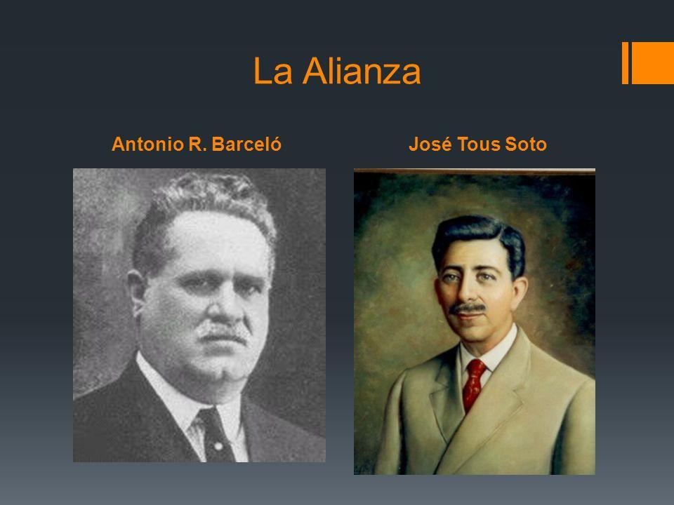 La Alianza Antonio R. Barceló José Tous Soto
