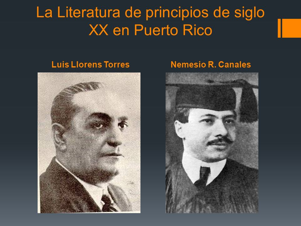 La Literatura de principios de siglo XX en Puerto Rico