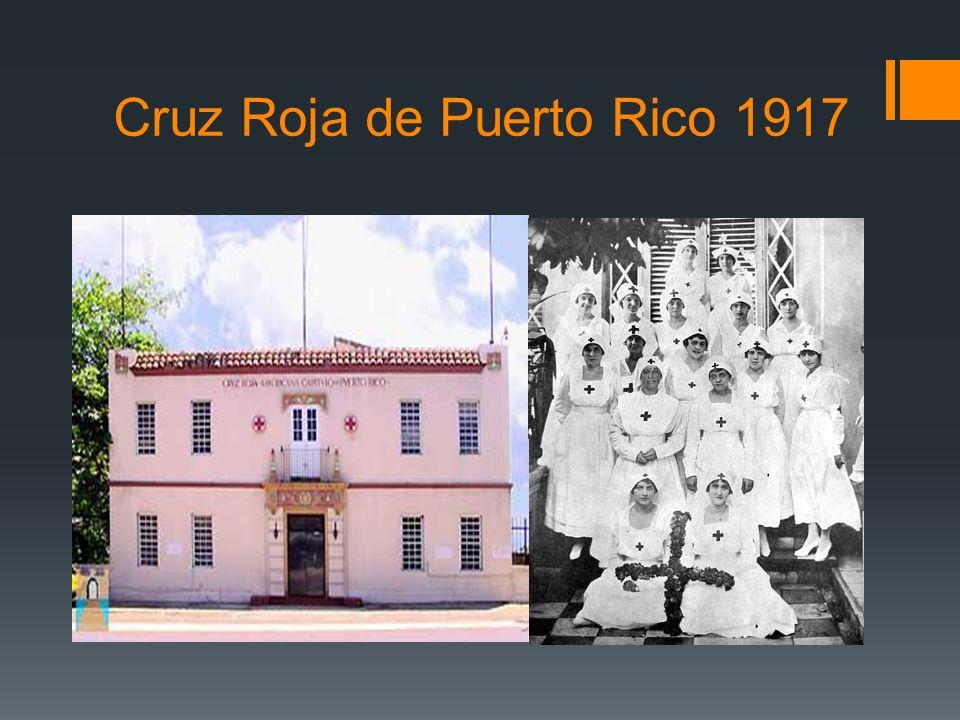 Cruz Roja de Puerto Rico 1917