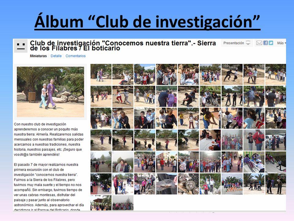 Álbum Club de investigación