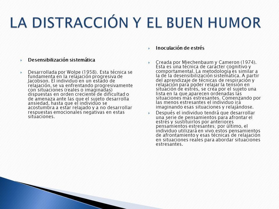 LA DISTRACCIÓN Y EL BUEN HUMOR