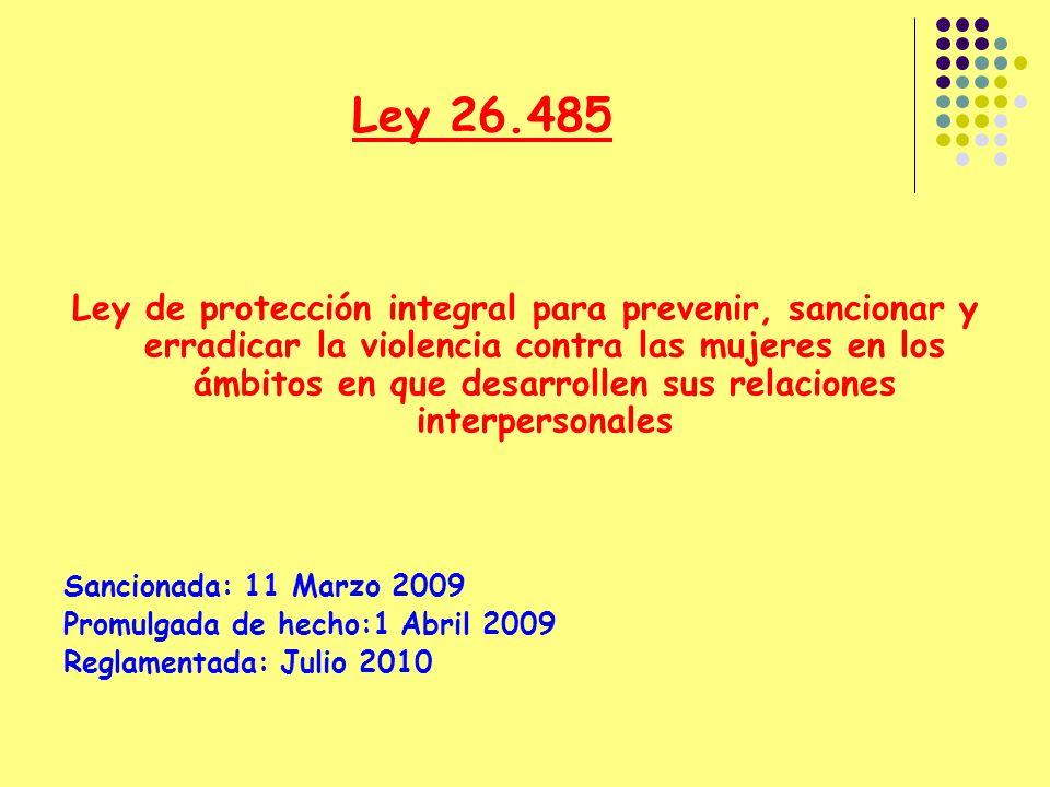 Ley 26.485