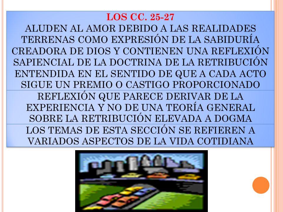 LOS CC. 25-27