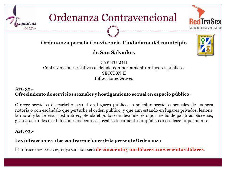 Ordenanza Contravencional