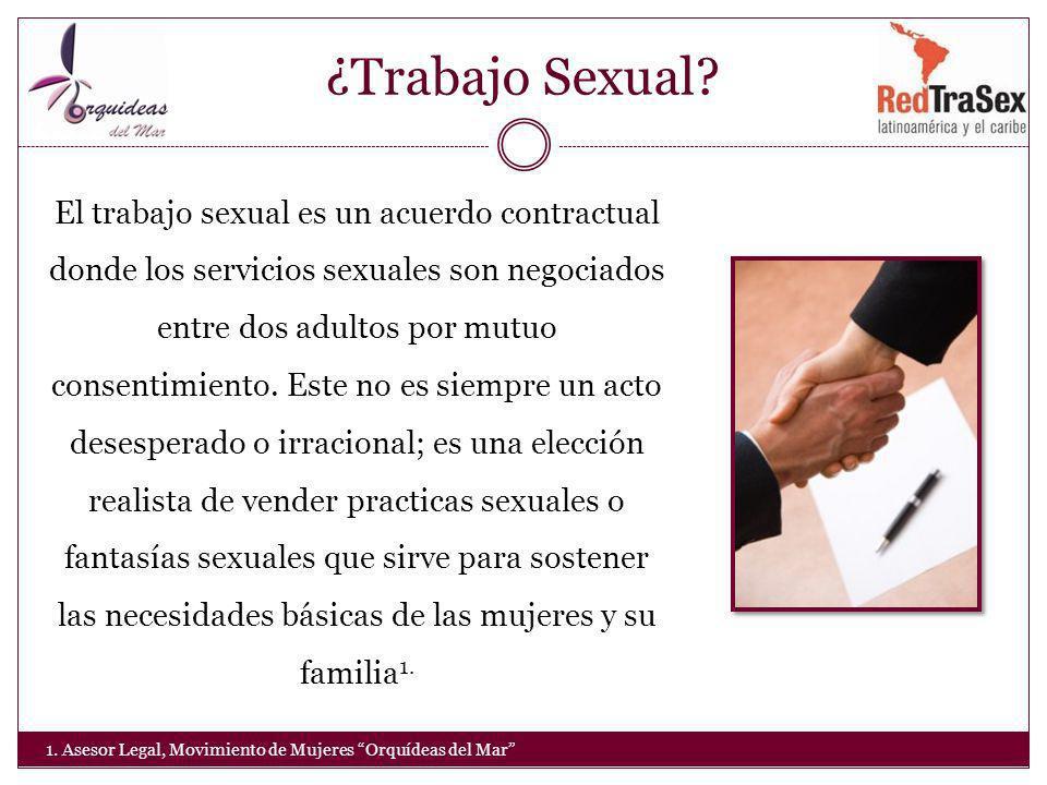 ¿Trabajo Sexual