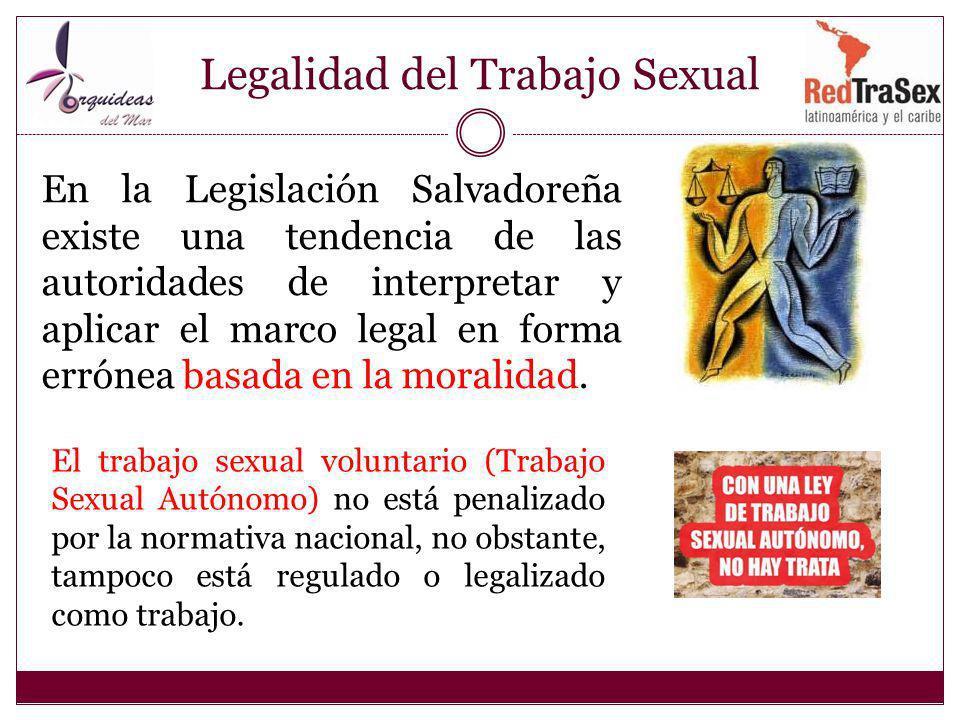 Legalidad del Trabajo Sexual