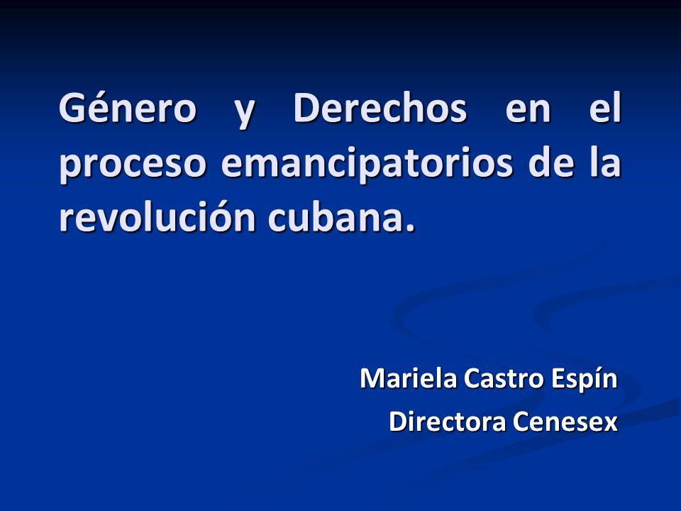 Mariela Castro Espín Directora Cenesex
