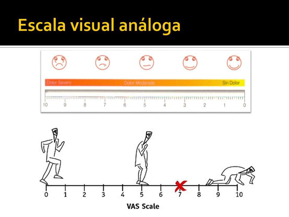 Escala visual análoga