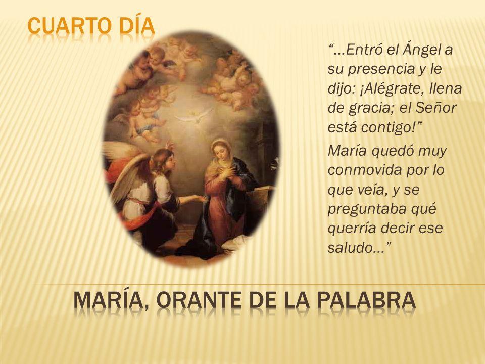 María, orante de la palabra