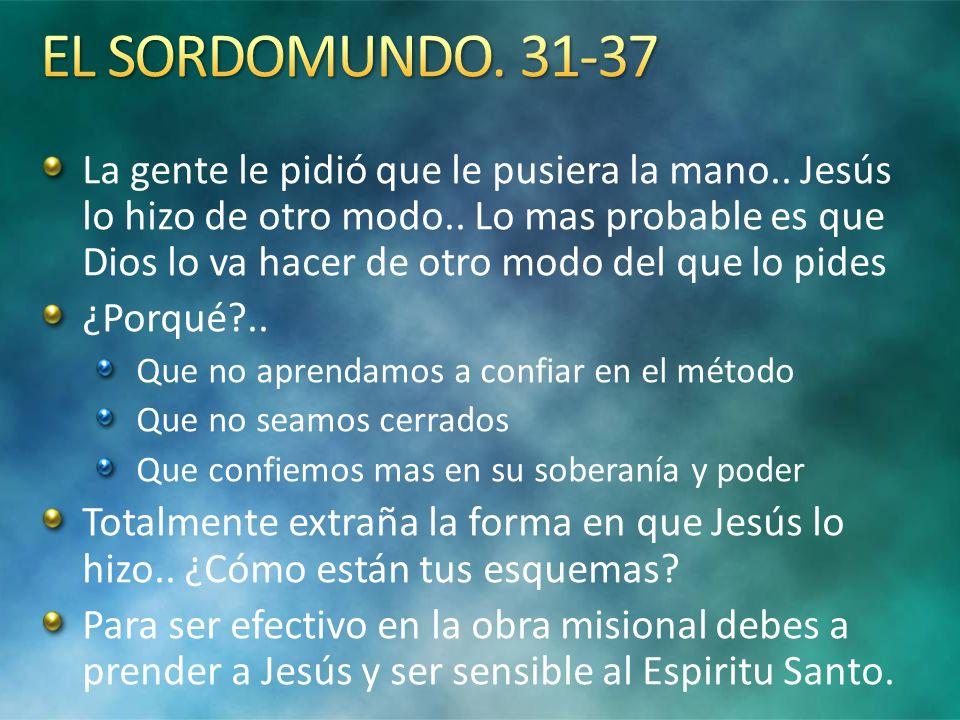 EL SORDOMUNDO. 31-37