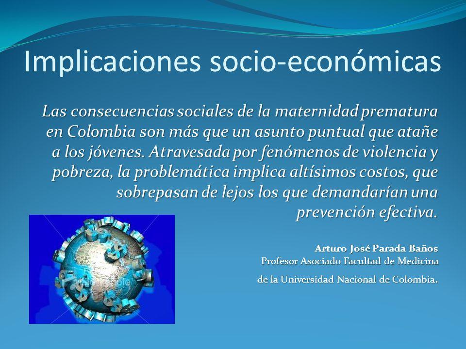 Implicaciones socio-económicas