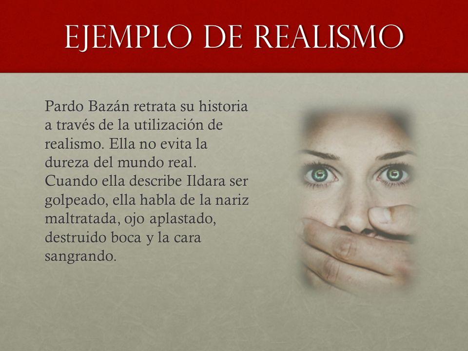 Ejemplo de Realismo