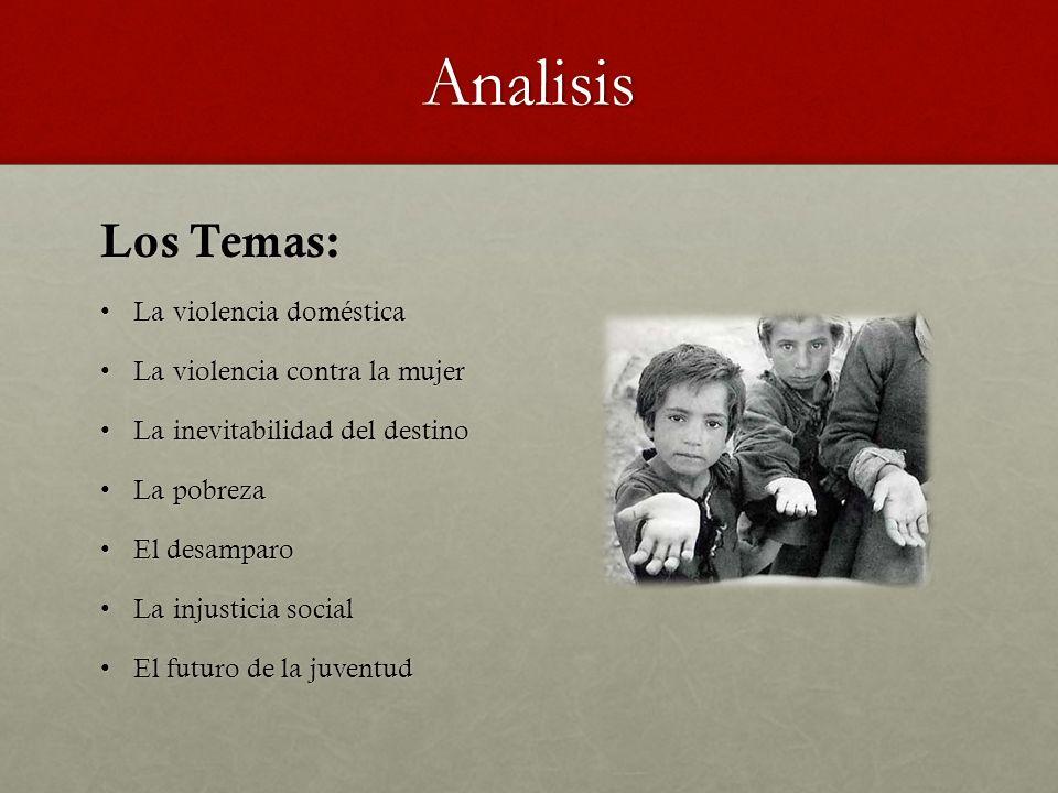 Analisis Los Temas: La violencia doméstica