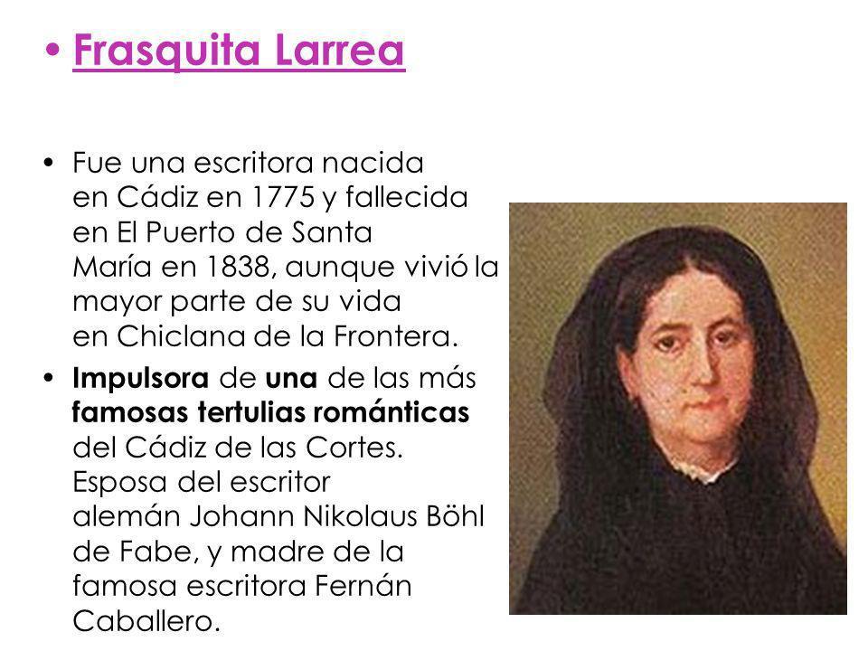 Frasquita Larrea