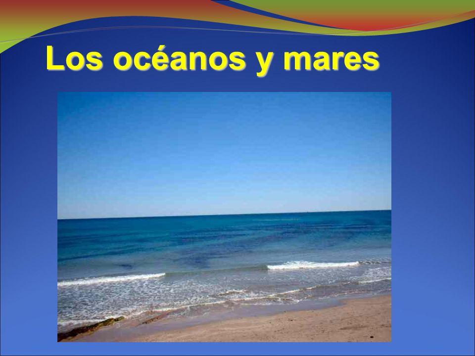Los océanos y mares 4