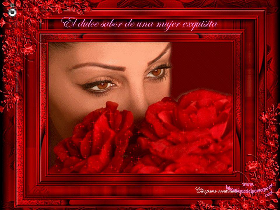 El dulce sabor de una mujer exquisita