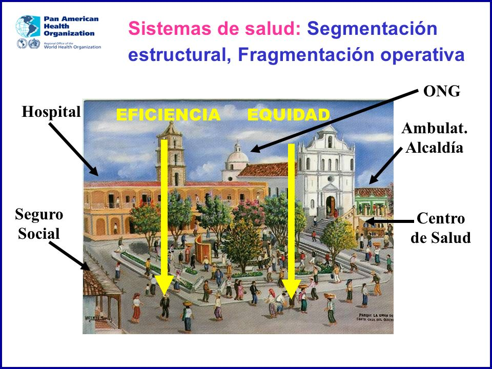 Sistemas de salud: Segmentación estructural, Fragmentación operativa